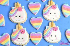 Haniela's: Pretty Unicorn Cookies