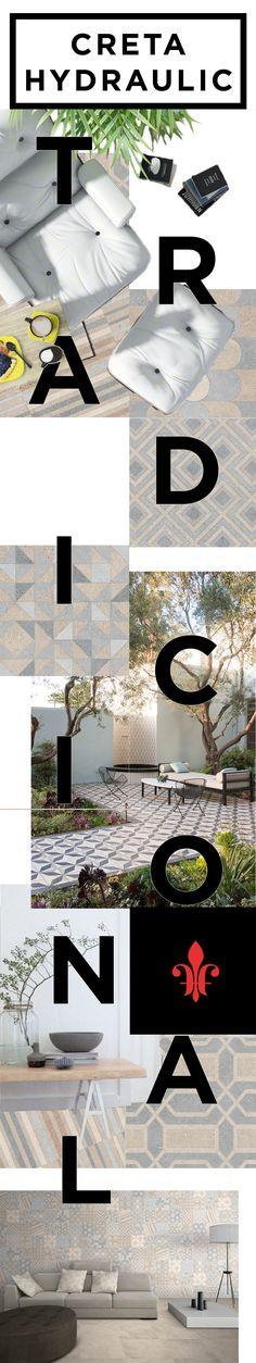 Los acabados hidráulicos estilizan espacios contemporáneos con estampados que visten y agregan vida al entorno.