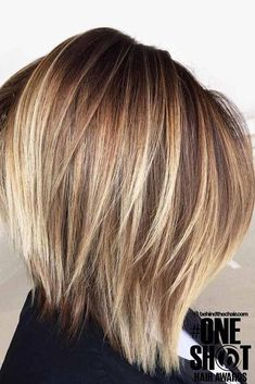 The Best Bob Hairstyle Ideas For Spring This Year 49 Die besten Bob Frisur Ideen für den Frühling in diesem Jahr 49 , The Best Bob Hairstyle Ideas For Spring This Year 49 Graduated Bob Hairstyles, Bob Hairstyles For Fine Hair, Layered Bob Hairstyles, Choppy Bob Hairstyles With Bangs, Hairstyles 2018, Braided Hairstyles, Wedding Hairstyles, Brown Bob With Highlights, Medium Hair Styles