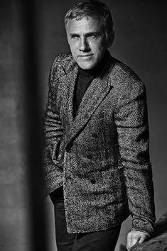 Christoph Waltz Delivers Dapper Persona for LUomo Vogue
