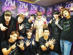 DAY-2  #2PM #6NIGHTS   with #DAY6  데식이들~^^