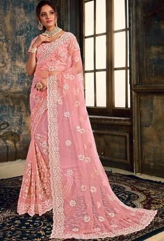 #Net #Sarees is one of the #best #indian #ethnic #dress, it is very #classic and #loved by the each and every #womens. #Nikvik is the #bestseller of #net #saree in #USA #AUSTRALIA #CANADA #UAE #UK Net Saree, Lehenga Choli, Anarkali, Churidar, Salwar Kameez, Net Blouses, Baby Pink Colour, Trendy Sarees, Designer Sarees Online