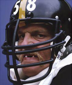 The best linebacker in NFL history: Hall of Famer Pittsburgh Steeler legend Jack Lambert
