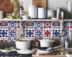 Stickers Autocollants tuiles pour cuisine/salle de par QUADROSTYLE