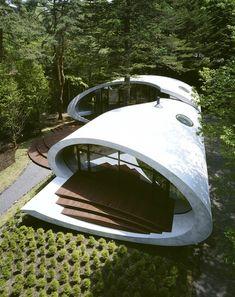 architecturia: Shell House, Nagano