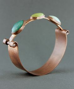 CLASS - HINGED COPPER BANGLE - September 29, 2013