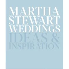 With rich photography, expert voice, and taste-making style, Martha Stewart Weddings—a brand-new volume, the first in nearly two decades—...