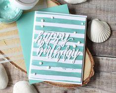 Summer Birthday CAS card! | Craft For Joy Designs
