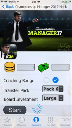 [Triks] Championship Manager 17 HACK - FREE Coaching Funds and CM$   Championship Manager 17 Hack and Cheats Championship Manager 17 Hack 2019 Updated Championship Manager 17 Hack Championship Manager 17 Hack Tool Championship Manager 17 Hack APK Championship Manager 17 Hack MOD APK Championship Manager 17 Hack Free Coaching Funds Championship Manager 17 Hack Free CM$ Championship Manager 17 Hack No Survey Championship Manager 17 Hack No Human Verification Championship Manager 17 Hack Championship Manager, App Hack, Interactive Stories, Game Resources, Android Hacks, Test Card, Hack Online, Hack Tool, Text You
