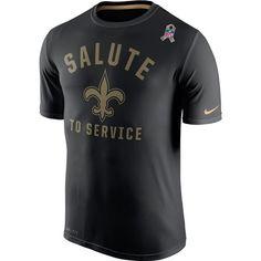 New Orleans Saints 2015 Salute to Service Legend Tee Nfl Shirts d97e2eae9