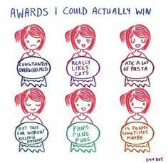 Ate a lot of Pasta lifetime award
