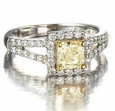 Canary Yellow Diamonds anyone?