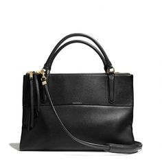 Coach - the borough bag in pebbled leather