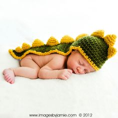 Dinosaur Photo Prop, Baby Dragon Photo Prop, Year of the Dragon Photo Prop for Baby, Newborn Baby, 0 to 3 months. $50.00, via Etsy.