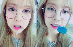 Moonbyul in glasses?ADORABLE!!!!