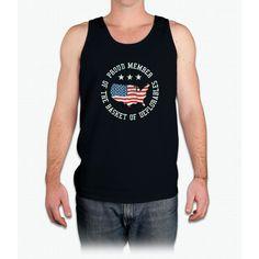 Proud Member of Basket of Deplorables T-shirt - Mens Tank Top