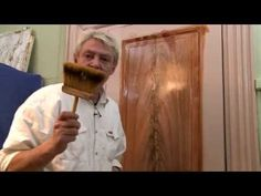 How to faux burl wood-Artisan Rooms - YouTube Rustic Painting, Faux Painting, Baroque Architecture, Hand Painted Furniture, Wood Patterns, Wood Colors, Clay Crafts, Wood Grain, Wall Design