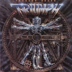 Triumph band | Triumph ~ Progressions of Power - 11 Albums 1977 - 1989