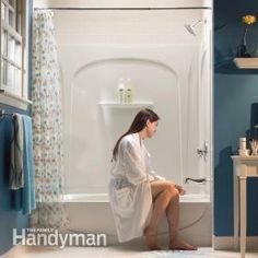 How to Install an Acrylic Tub and Surround.