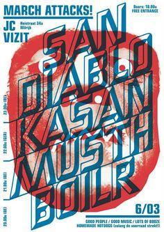 Bram Kinet: Gig Poster