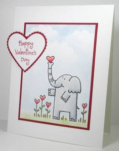 CAS Valentine by die cut diva - Cards and Paper Crafts at Splitcoaststampers
