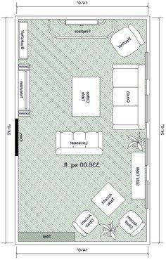 Furniture arrangements for a narrow room living spaces - Narrow living room furniture layout ...