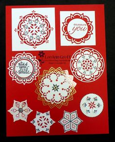 Stampin' Up! Eastern Medallion thinits from Eastern Palace Suite