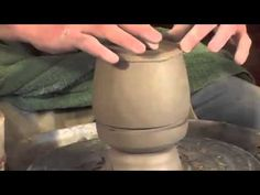Pottery Video: How to Make a One-Piece Box on the Pottery Wheel