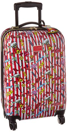 Betsey Johnson Candy Lane Hardside Suitcase 20 >>> You can find out more details at the link of the image.