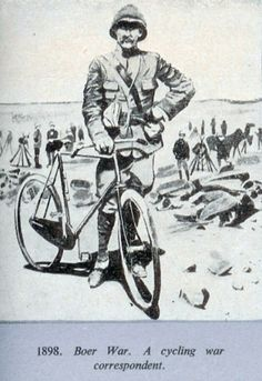 Cycling war correspondent.