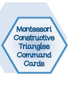 This material is a popular extension to the Constructive Triangles set. Using command cards will help students enhance critical thinking skills wh. Homeschool Supplies, Classroom Supplies, Writing Numbers, Math Numbers, Hexagon Box, Montessori Math, Critical Thinking Skills, Teaching Materials, Third Grade