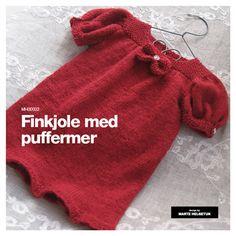 Finkjole med puffermer - Barnehagebarn 1-6 år - Materialpakker - Design by Marte Helgetun
