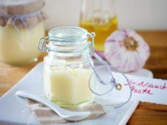 Knoblauchpaste selber machen - knoblauchpaste