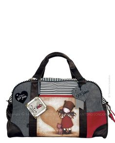 Gorjuss Weekend Bag - Purrrfect Love.. this is absolutely purrfect <3 I love the direction of this new idea for fashion. DK