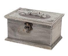 Caja de madera DM Carcassone - beige