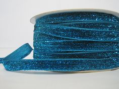 Craft supplies and Handmade Tassels by ichimylove Glitter Ribbon, Blue Glitter, Bulk Ribbon, How To Make Headbands, Purse Handles, Fun Projects, Decorative Pillows, Great Gifts, Turquoise