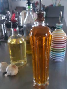 Garlic infused oil #garlicoil #infusedoil #shortcutingredient
