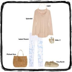 Outfit Of The Day – Nude Chilled Monday created by @The Closet Clause TCC