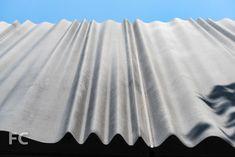 Close-up of the GFRC façade panels. Mall Facade, Timber Ceiling, Concrete Facade, Metal Siding, Building Concept, Curved Walls, Zaha Hadid Architects, Metal Panels, Facade Design