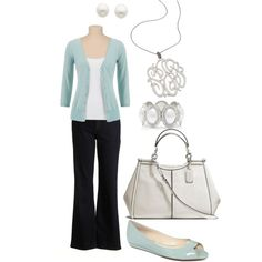 """""""Casual Friday-Plus Size outfit"""