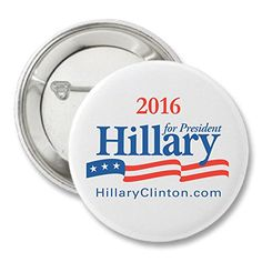 Hillary Clinton For President 2016 Campaign Button - - saving money universe Hillary Clinton Costume, Hillary Clinton President, Presidential History, Sewing Machine Reviews, Political Campaign, Spa Deals, Love Coupons, Name Badges, Business Signs