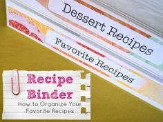 Love Grows Wild: The BEST Way to Organize Your Recipes!