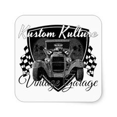 Kustom Kulture Vintage Garage