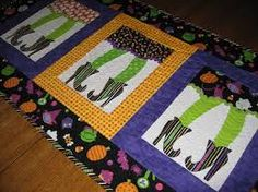 halloween table runner - Google Search