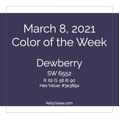 Your Color of the Week and energy reading for the week of March 8, 2021. There is a shift to come, and it's centered in your desires.