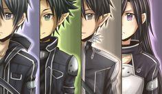 All Kirito Character