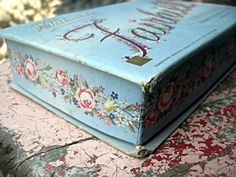 Vintage candy box Whitman's 1943 with roses by LittleBeachDesigns, $21.00