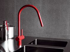 PAN 1 hole kitchen mixer tap by ZUCCHETTI design Ludovica+Roberto Palomba