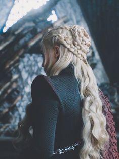 Casual Hairstyles, Pretty Hairstyles, Braided Hairstyles, Wedding Hairstyles, Daenarys Targaryen, Feyre And Rhysand, Game Of Thrones Dragons, Khaleesi, Daenerys