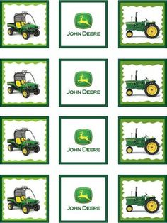 free tractor printables, birthday parti, john deere parties, free john deere printables, deer parti, party printables, deer printabl, tractor parti